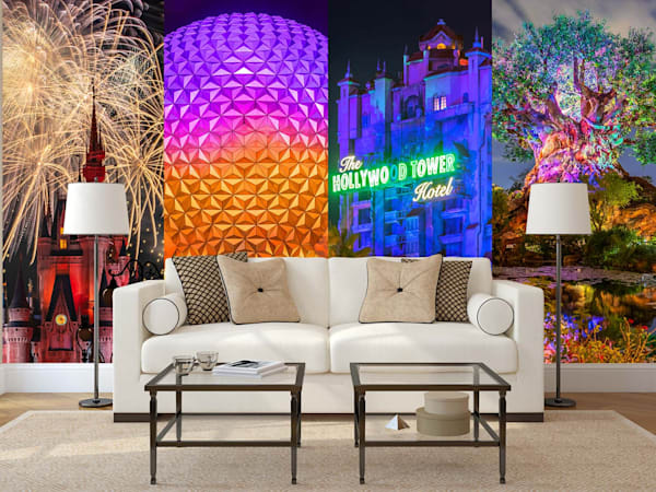 Disney Wall Murals: Shop Prints | William Drew Photography