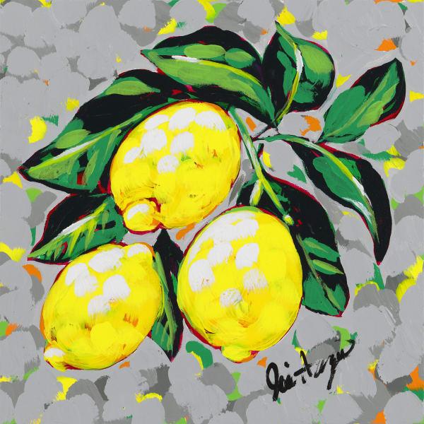 Lemons, a fine art print by Jodi Augustine Art.