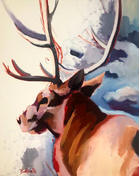Evolution Of An Elk Art   Bottinelli Fine Art