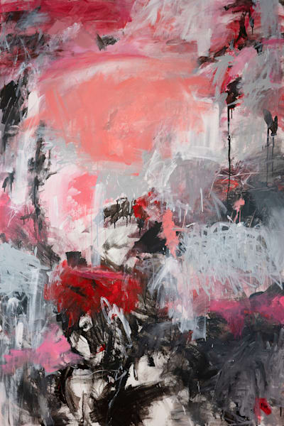 Original Abstract Painting - She Is Bold