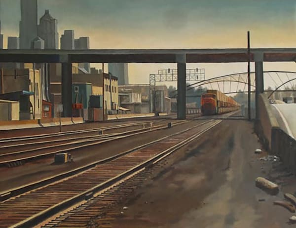 Along The Tracks Art | Fountainhead Gallery