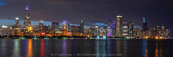 Land of Liberty Chicago - Skyline Wall Murals - William Drew Photography