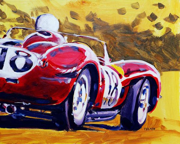 Ferrari Testarossa Art | Telfer Design, Inc.