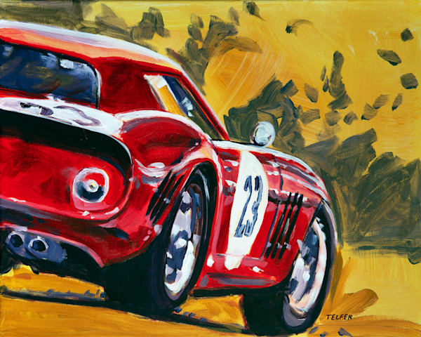 Ferrari 250 Gto Art | Telfer Design, Inc.