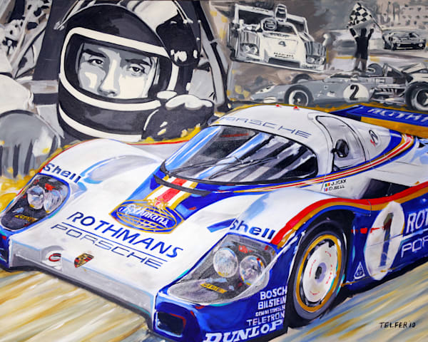 Jacky Ickx   Champ Art | Telfer Design, Inc.