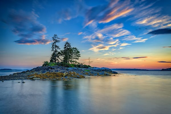Day's End at Lookout Point by Rick Berk