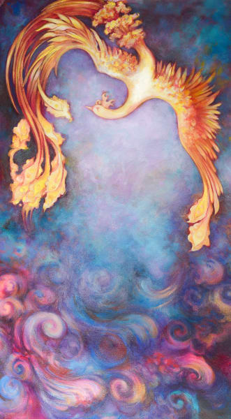 Firebird Painting