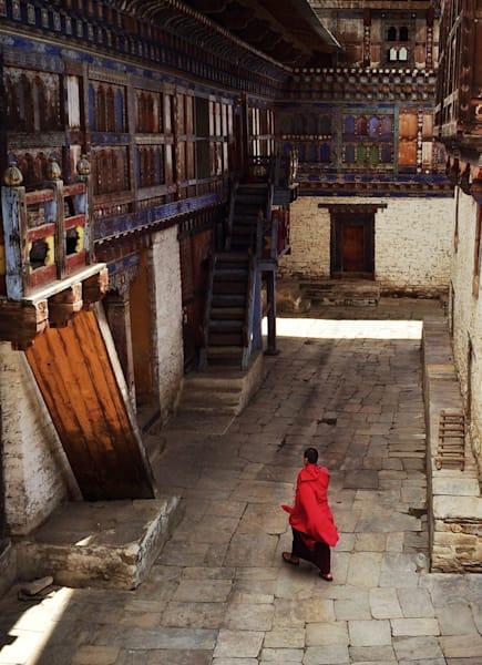 Monk, Bumthang Dzong Art | photographicsart
