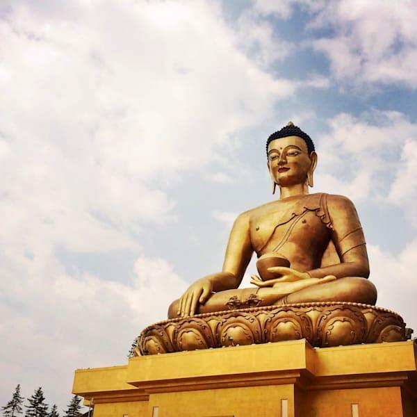 Golden Buddha, Thimphu Art | photographicsart
