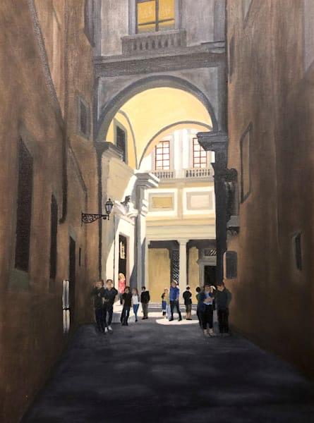 Uffizi Gallery, Florence Art | Brendan Kramp Studio & Workshop