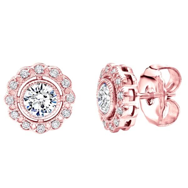 Rose Gold Earrings | Tucson Art Gallery | Jewelry
