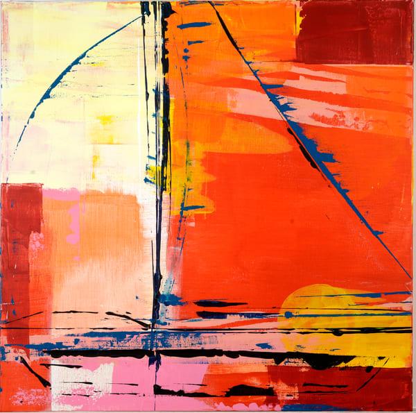 Sunset Sail Art | benbonart