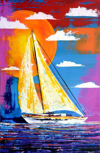 Sailing On Art | benbonart