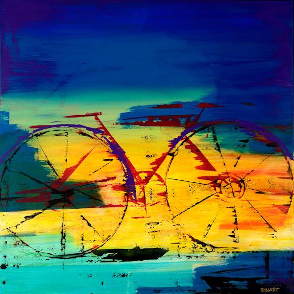 Cycling Art | benbonart