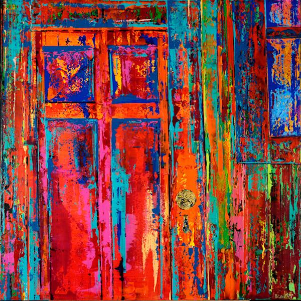 Red Door  Art   benbonart