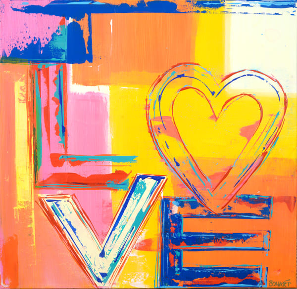 Love Heart  Art | benbonart