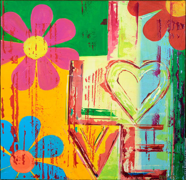 Love In Bloom  Art | benbonart