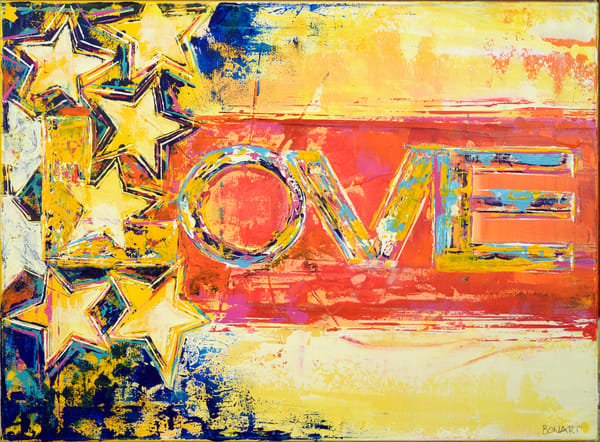 Love Flag  Art | benbonart