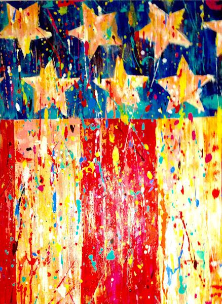 Stars Stripes  Art | benbonart