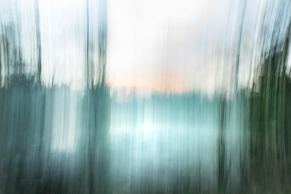 Shifting Paradigms - Archival Pigment Print Matted and Framed