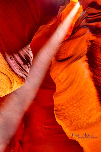 Canyon X Slot Canyon Sun Beam Photograph 3114 | Slot Canyon Photography  | Arizona Photography | Koral Martin Fine Art Photography