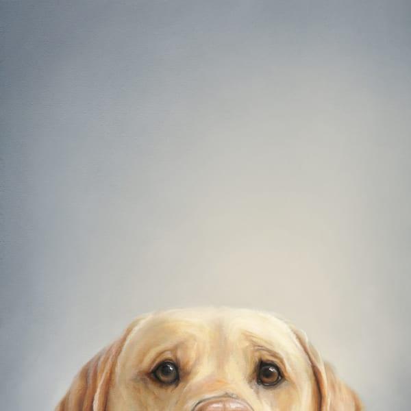 Lab At The Table Art | Van Isle Dog Art