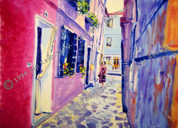 Burano Maiden Art | Kasprzycki Fiine Art Inc.