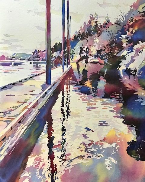 Fantastic Water Boat-Landing.  Shop prints/Patrice Cameron Art