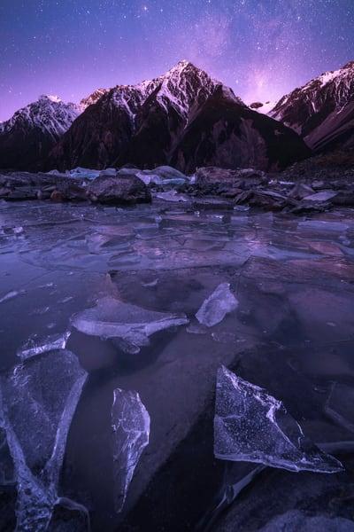 'Diamonds & Mountains' Photograph for sale as Fine Art