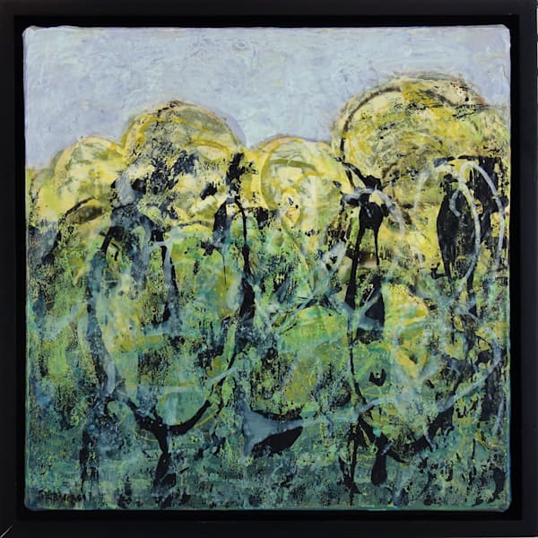 Nature's Energy #1844 painting by artist Shirley Williams