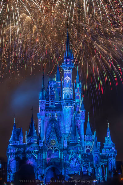 Happily Ever After 16 - Cinderella Castle Mural | William Drew Photography
