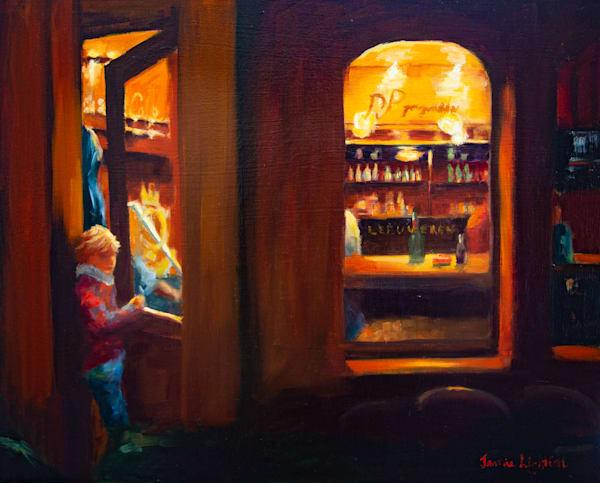 Peeking In Art | Jamie Lightfoot, Artist