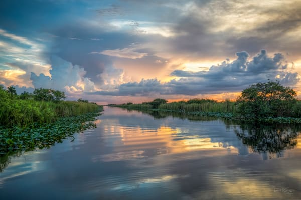 Everglades Sunset Delight