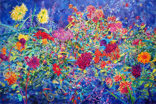 Dahlias & Sage Art | Kasprzycki Fine Art Inc.