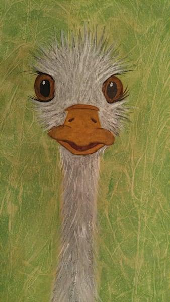 Ostrich Art | Patricia Franklin