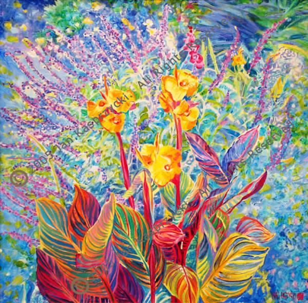 Fall Garden, Ltd Edition Art | Kasprzycki Fine Art Inc.