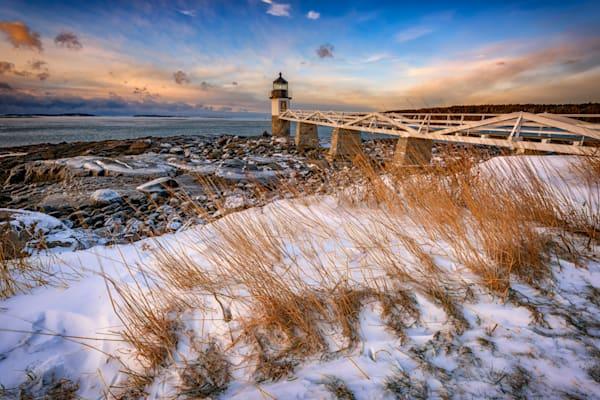 January Morning at Marshall Point by Rick Berk