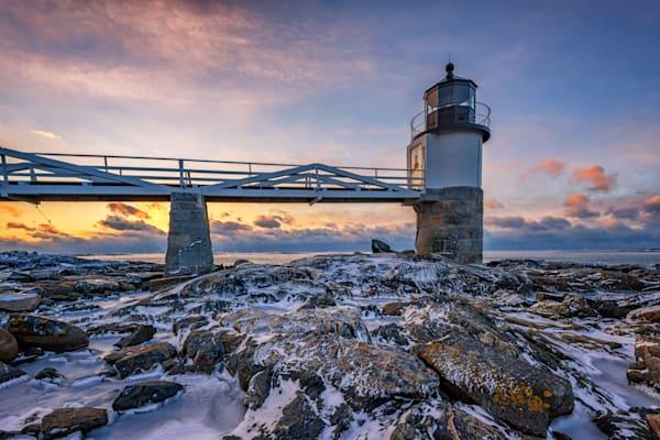 Winter Sunrise at Marshall Point by Rick Berk