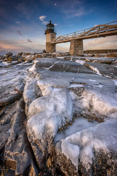 Winter Freeze at Marshall Point by Rick Berk