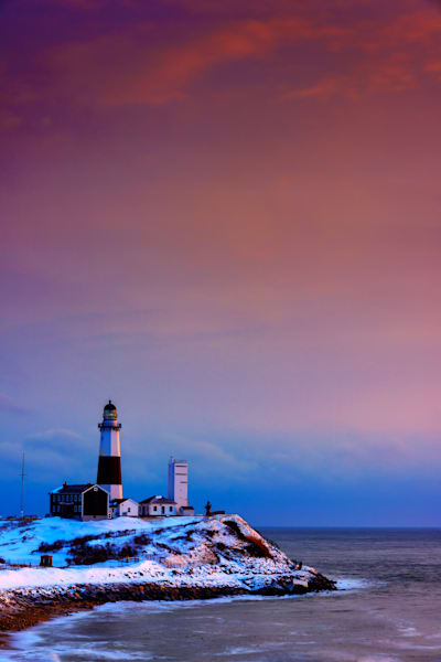 Montauk Point on a Winter Morn by Rick Berk