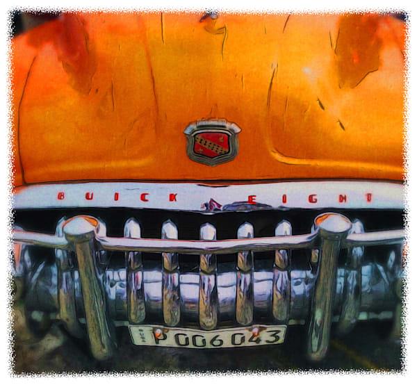 Orange Buick Art | photographicsart