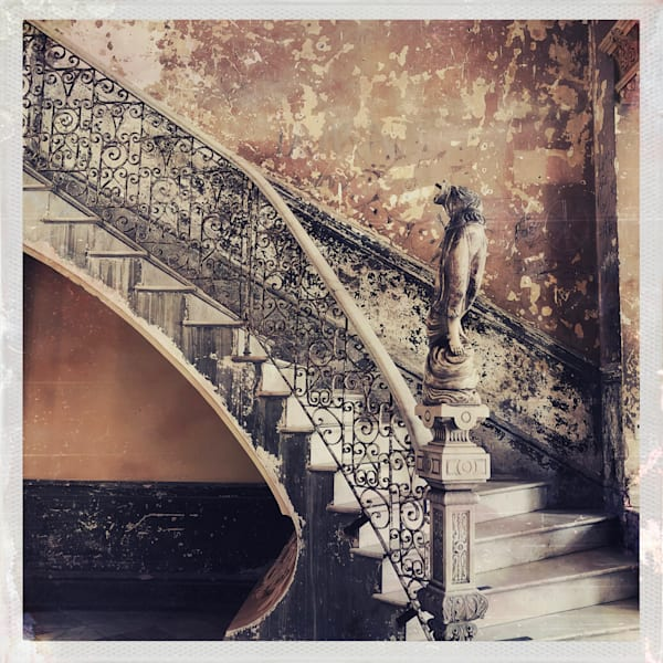 Staircase, Old Havana Art | photographicsart