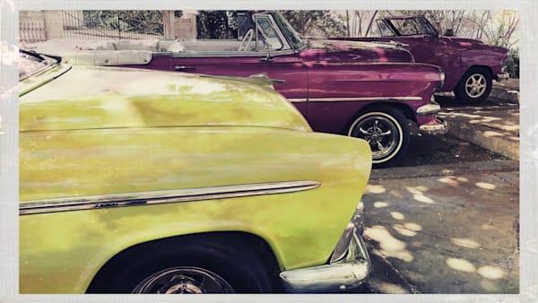 Tres Vintage Autos Art | photographicsart