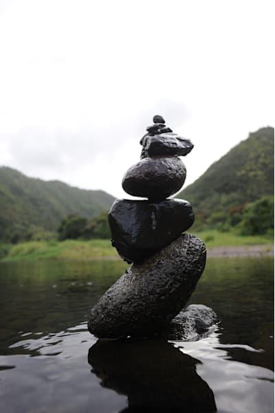 Hanamanu Cairn Ii Photography Art | Brian Ross Photography