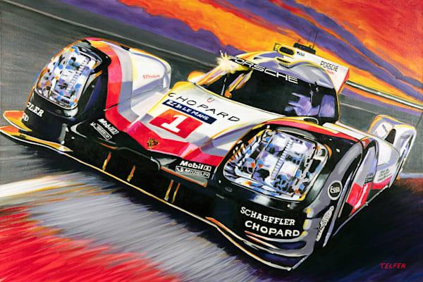 Porsche 919 Le Mans Original Painting Art | Telfer Design, Inc.