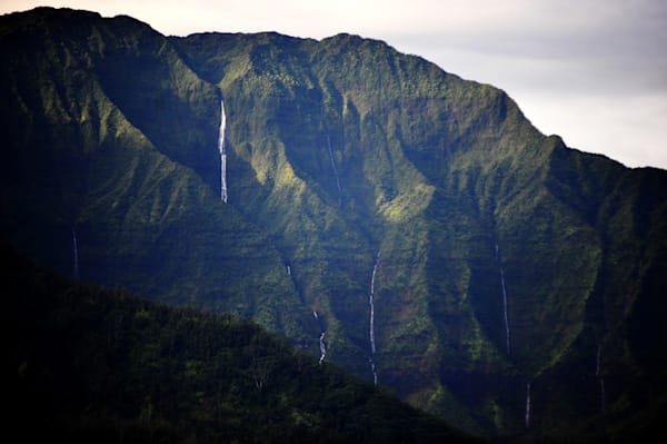 Hanalei Waterfalls Photography Art | Brian Ross Photography