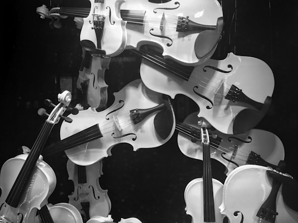Violins Photography Art | Brian Ross Photography