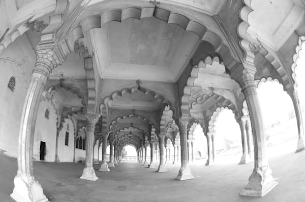 Red Fort Arches. Agra, India Photography Art | Brian Ross Photography