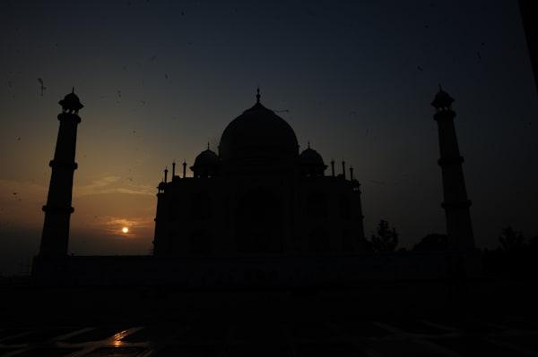 Taj Mahal Sunset Photography Art | Brian Ross Photography