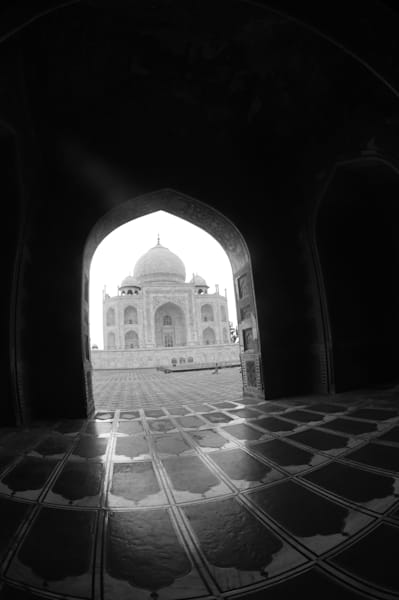 Taj In Arch Photography Art | Brian Ross Photography